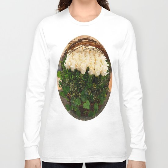 Roses in Ivy Long Sleeve T-shirt