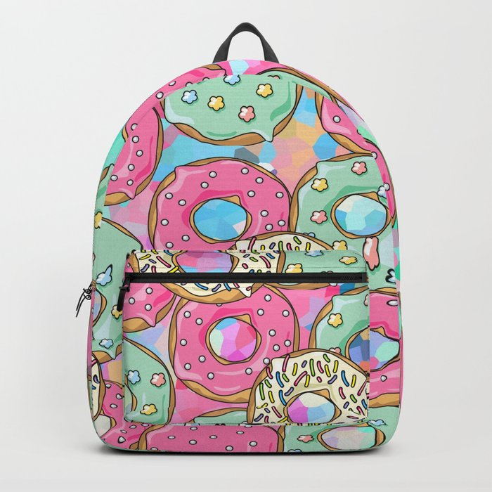 Sweet Donuts Cookies Backpack