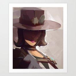 Borderlands - Sheriff of Lynchwood Art Print