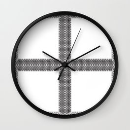 Linear Square Wall Clock