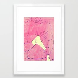 Boxing Club 1 Framed Art Print