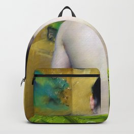 William Merritt Chase - Back Of A Nude - Digital Remastered Edition Backpack