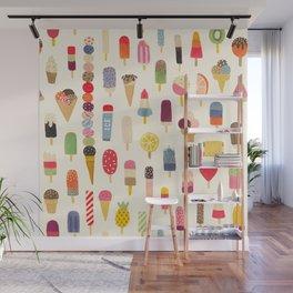 Pop Pop Popsicles! Wall Mural