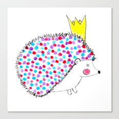 Hedgie Canvas Print