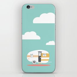 Lets See Really Cool Stuff Together Airstream Art iPhone Skin