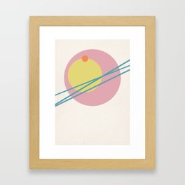 Juxtapose II Framed Art Print