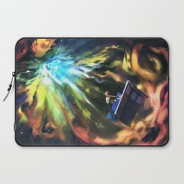 Man on the Edge of Forever Laptop Sleeve