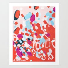 Nail Polish on the Carpet Art Print