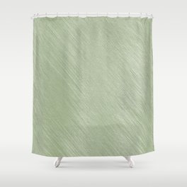 Healthy Radishes On Green Background Shower Curtain