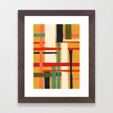 Variation of a theme Framed Art Print