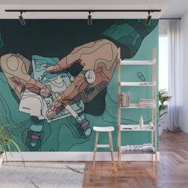 Smoke the cash Wall Mural