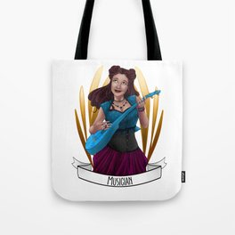 Steampunk Occupation Series: Musician Tote Bag