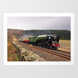 60163 Tornado at Blea Moor Art Print