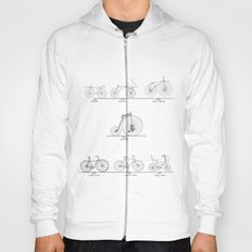 Evolution of Bicycles Hoody