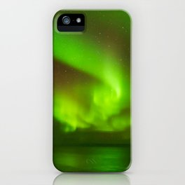 Northern Lights at the North Cape Norway iPhone Case