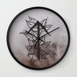Warrior Rune Wall Clock