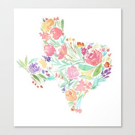 Bloomin' Texas Canvas Print
