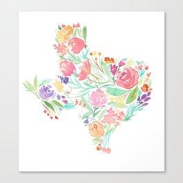 Bloomin' Texas Canvas Print
