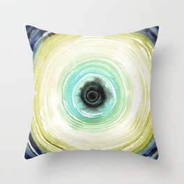 Tree Ring - Navajo Throw Pillow