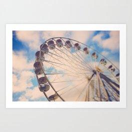 Love Wheel Art Print