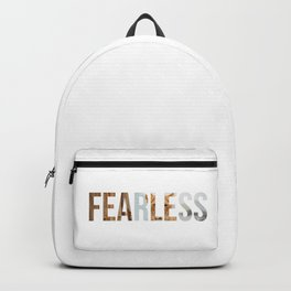 Fearless Motivation Design Backpack