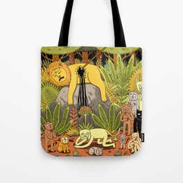 Death of the King Tote Bag
