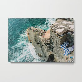 "Travel photography print ""Rocky Beach"" photo art made in Italy. Art Print Metal Print"