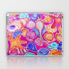 Colorful Seashells Laptop & iPad Skin