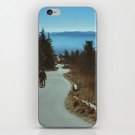 Path up the Great Smoky Mountains iPhone Skin