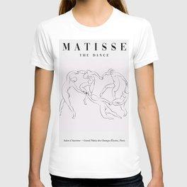 Henri matisse one line art inspired by matisse dancers minimalist drawing T-shirt