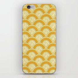 Yellow Wabi Sabi Wave II iPhone Skin