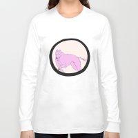 running Long Sleeve T-shirts featuring Running by Eve-Gittins