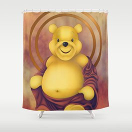 Poodah Shower Curtain