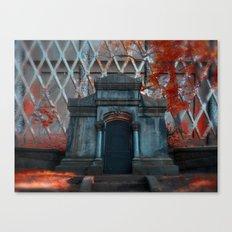 The Vampire Crypt Canvas Print