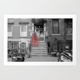 Unseen Monsters of New York - Raconteur Kibitzer Art Print