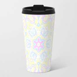Pastel Kaleidoscope 1 Travel Mug