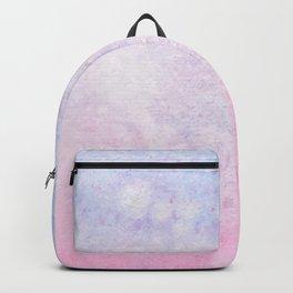 Pink Blue Gradient Backpack
