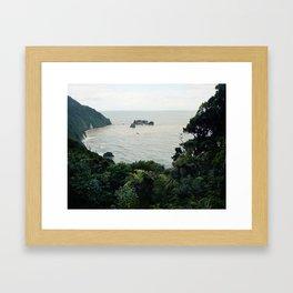 New Zealand Coast Framed Art Print