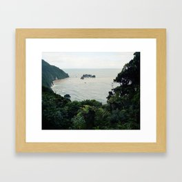 New Zealand Coast Framed Art Print