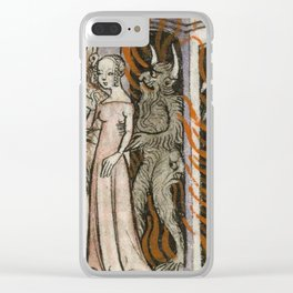 Taken by demons Clear iPhone Case