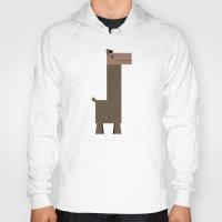 llama Hoodies featuring Llama by AWOwens