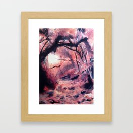 Nature's Path Framed Art Print