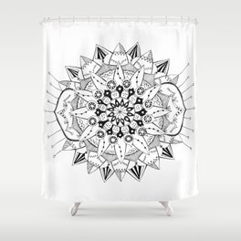 Mandala Series 03 Shower Curtain