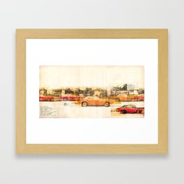 automatic Framed Art Print