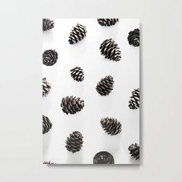 Pine Cones 2 Metal Print