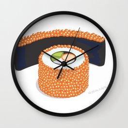 sush.eye maki Wall Clock