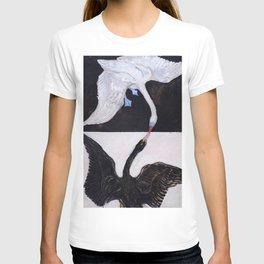 "Hilma af Klint ""The Swan, No. 01, Group IX-SUW"" T-shirt"