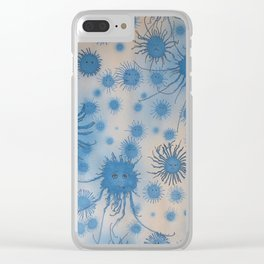 In Blue Clear iPhone Case