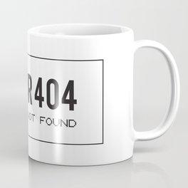 ERROR 404 – Artwork not Found Coffee Mug