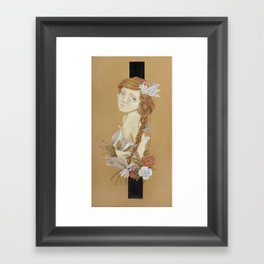 And they Flourished Part 1 Framed Art Print